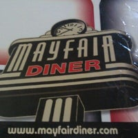 Photo taken at Mayfair Diner by Sean D. on 8/22/2011