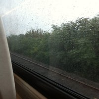 Photo taken at MTA - LIRR Train by Elizabeth A. on 9/29/2011