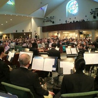 Photo taken at Cathedral of Hope by Michael M. on 4/8/2012
