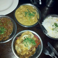 Photo taken at Akbar Cuisine of India by William G. on 9/28/2011