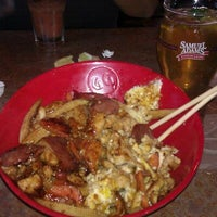 Photo taken at Genghis Grill by Luis on 9/25/2011