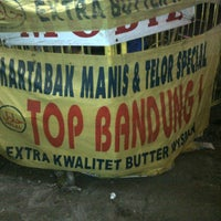 Photo taken at Martabak top bandung by Aryo S. on 3/12/2012