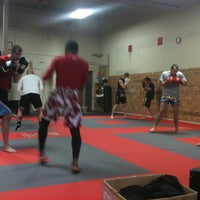 Photo taken at Red Schafer Mixed Martial Arts by Pamela on 4/1/2011