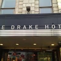 Photo taken at Drake Hotel by Dean G. on 8/9/2012