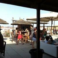 Photo taken at Bagno Hana-Bi by Vincenzo G. on 7/28/2012