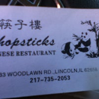 Photo taken at Chopsticks by Francis D. on 1/28/2012