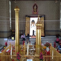 Photo taken at Bangkok City Pillar Shrine by Adsadang P. on 8/26/2012