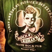 Photo taken at Rock & Reilly's Irish Pub by Tony D. on 3/17/2012