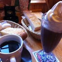 Photo taken at Komeda's Coffee by hiromiko on 5/2/2012