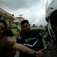 Photo taken at Jl. Pangeran ayin (depan ruko kencana damai) by Yudha W. on 11/20/2011