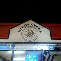 Photo taken at Nikos Gyros by Felice L. on 1/27/2012