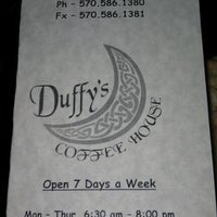 Photo taken at Duffy's Coffee House by Allison on 12/3/2011
