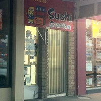 Photo taken at Sushi Station by Griff M. on 8/30/2011