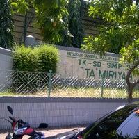 Photo taken at Taman Pendidikan Ta'miriyah Surabaya by Ahmad A. on 9/10/2011