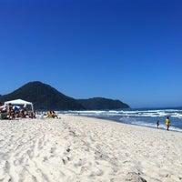 Photo taken at Praia Itamambuca by Bianca G. on 8/25/2012