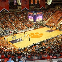 Photo taken at Littlejohn Coliseum by Brad L. on 1/19/2012