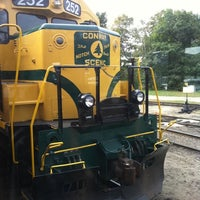 Photo taken at Conway Scenic Railroad by Alli G. on 9/18/2011