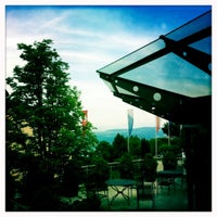 Photo taken at Restaurant UTO KULM by Anny R. on 7/3/2011