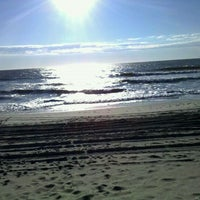 Photo taken at Brant Beach by Sue D. on 10/15/2011