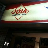 Photo taken at Jóia Mercados by Felipe A. on 7/28/2011