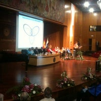 Foto tomada en Paraninfo de la ULPGC por Universidad de Las Palmas de Gran Canaria U. el 9/12/2012
