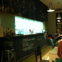 Photo taken at Bogart Café by Felippe R. on 5/2/2012