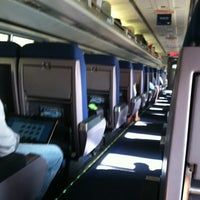 Photo taken at Amtrak Acela 2173 by Randy H. on 9/3/2011