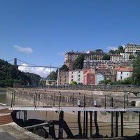 Photo taken at Large Swing Bridge by Dave P. on 7/29/2012