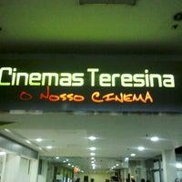 Foto tirada no(a) Cinemas Teresina por Fabrício W. em 9/3/2012