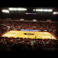 Photo taken at Stegeman Coliseum by Chris W. on 1/29/2012