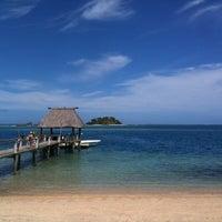 Photo taken at Malolo Island Resort by Stephen M. on 9/1/2011