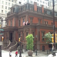 Photo taken at The Union League of Philadelphia by Pablo A. on 5/26/2012