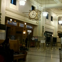 Photo taken at Pacific Central Station (XEA) by Lauree F. on 1/30/2012