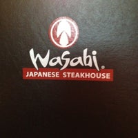 Photo taken at Wasabi Japanese Steakhouse by Jenny G. on 5/30/2012