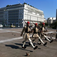Photo taken at Syntagma Square by Dmitry L. on 6/30/2012