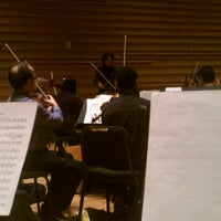 Photo taken at DiMenna Center for Classical Music by Hakeem B. on 12/19/2011