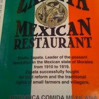 Photo taken at Zapata Mexican Restaurant by Charlie B. on 11/29/2011