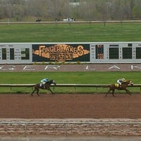 Photo taken at Finger Lakes Gaming and Racetrack by Amanda D. on 4/27/2012