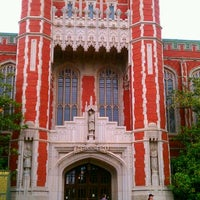 Photo taken at Bizzell Memorial Library by Nicole P. on 5/4/2012