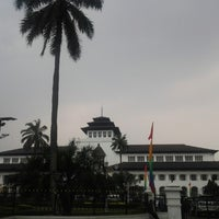Photo taken at Gedung Sate by Grace S. on 7/11/2012