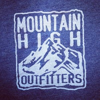 Photo taken at Mountain High Outfitters by Jeni B. on 5/19/2012