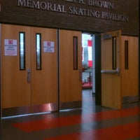 Photo taken at Walter Brown Arena by Monica P. on 11/4/2011