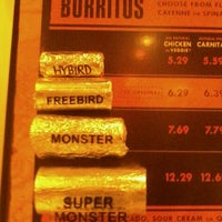 Photo taken at Freebirds World Burrito by Dominic H. on 8/28/2011