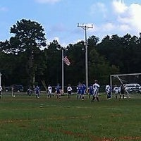 Photo taken at Beachwood Soccer Club Complex by Michele C. on 10/1/2011