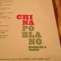 Photo taken at China Poblano by Aaron F. on 11/30/2011