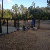 Photo taken at Bear Branch Dog Park by Gin, Saydie & Marx J. on 9/8/2012