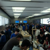 Photo taken at Apple Store by DougJnr on 7/5/2012