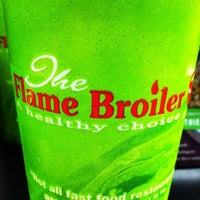 Photo taken at The Flame Broiler by onemike on 11/16/2011