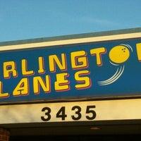 Photo taken at Arlington Lanes by K.C. L. on 10/21/2011