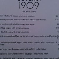 Photo taken at Osteria 1909 by Mac on 5/20/2012